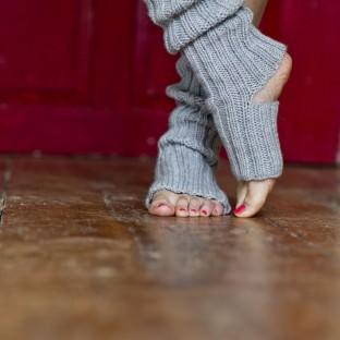 Yogasocken stricken Strickkit von schoenstricken.de