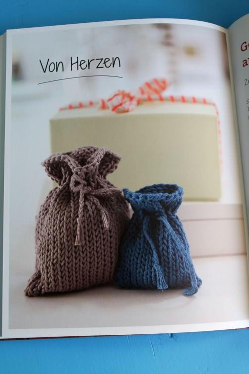Das geniale Schnellstrickerbuch Säckchen stricken schoenstricken.de