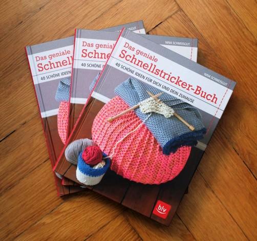 Das geniale Schnellstrickerbuch Verlosung schoenstricken.de