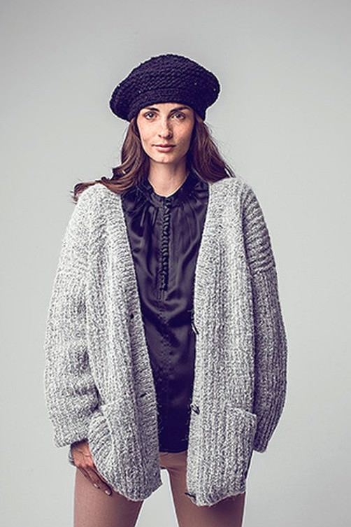 Oversized Cardigan Must Knit schoenstricken.de