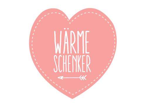 Wärme Schenker Badge