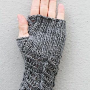 Armstulpen mit Muster stricken innen schoenstricken.de