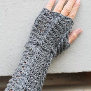 Armstulpen mit Muster stricken schoenstricken.de
