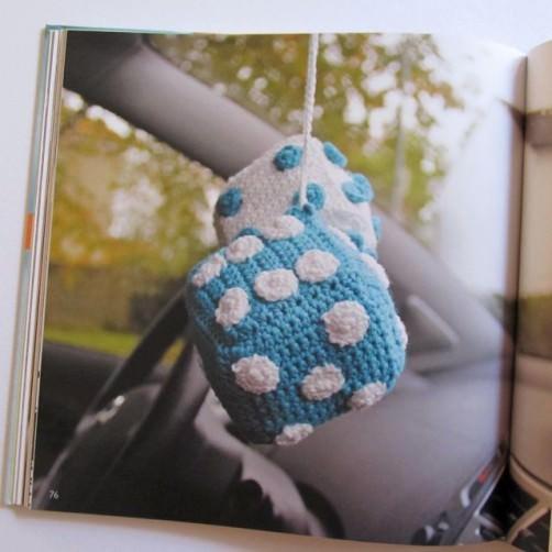 Buchrezension Häkeln für Männer Autowürfel schoenstricken.de
