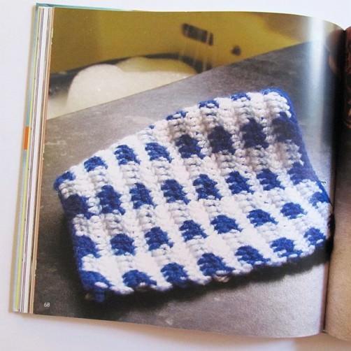 Buchrezension Häkeln für Männer Spüllappen schoenstricken.de