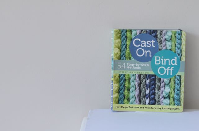 Buchvorstellung Cast on bind off schoenstricken.de