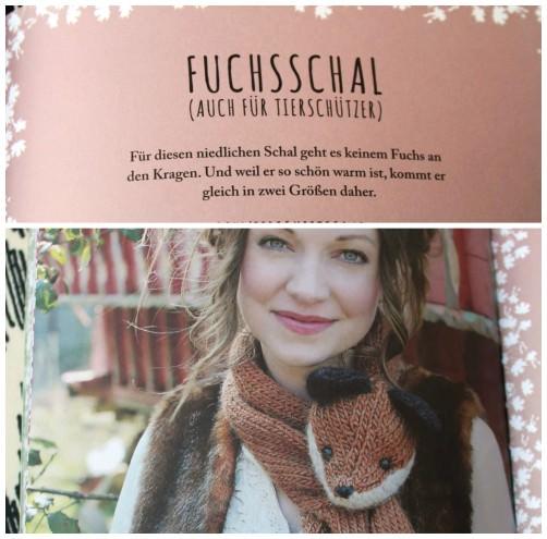 Elfenstrick Buch Fuchsschal schoenstricken.de