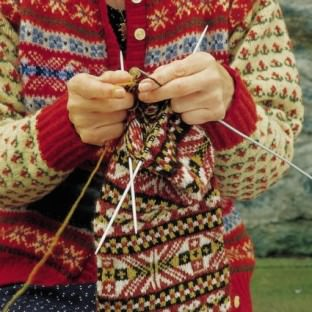 Fair Isle Knitalong Norwegermuster schoenstricken.de