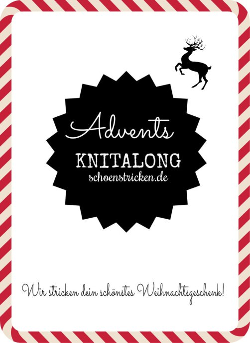 Knitalong 1. Advent schoenstricken.de