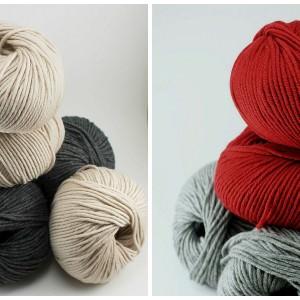 Die Wolle für unseren Advents Knitalong