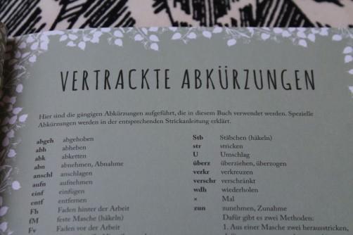 Strickbuch Vorstellung Elfenstrick Abkürzungen  schoenstricken.de