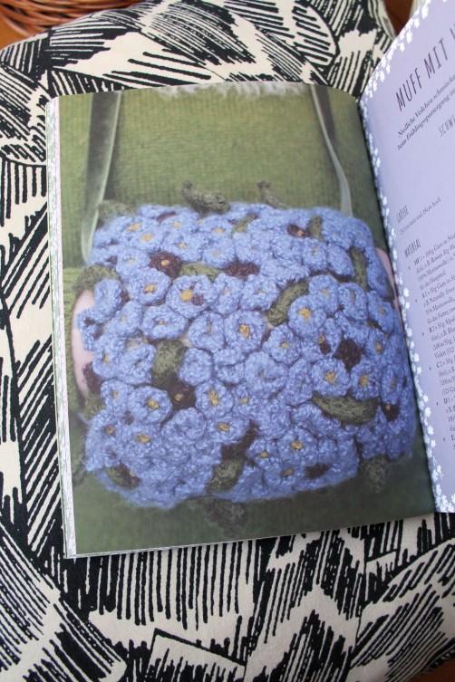 Strickbuch Vorstellung Elfenstrick Blumenmuff schoenstricken.de