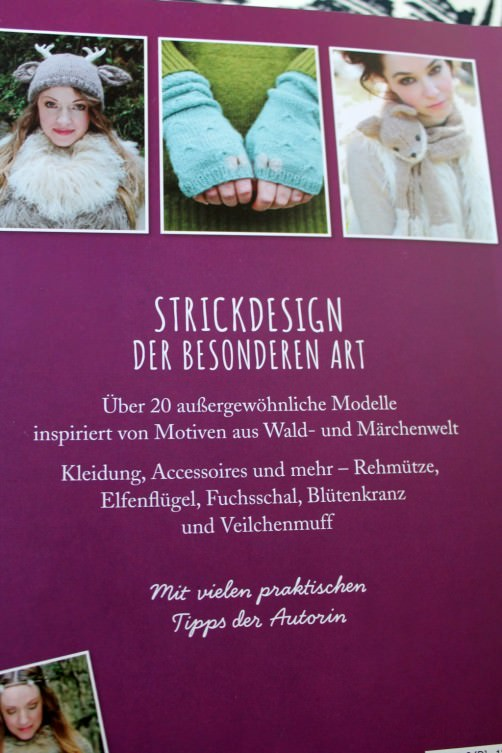 Strickbuch Vorstellung Elfenstrick Rückseite schoenstricken.de