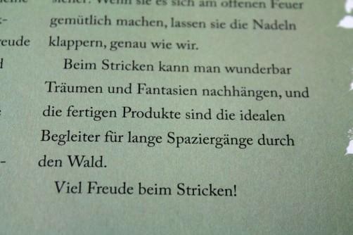 Strickbuch Vorstellung Elfenstrick Vorwort schoenstricken.de