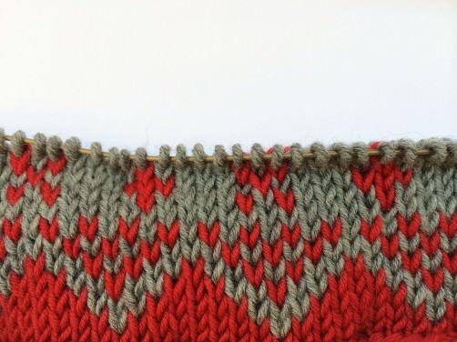 Teil 1 Knitalong Muster 1 superclose schoenstricken.de