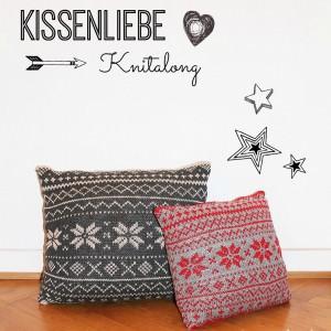Bildergalerie Knitalong Norwegermuster Kissen