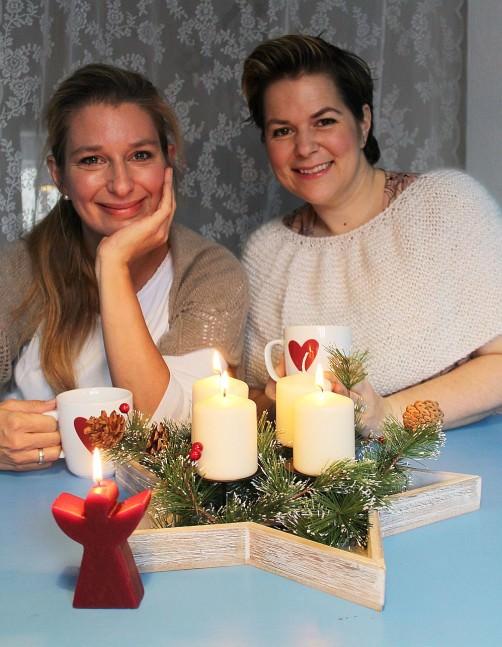Adventsknitalong Teil 3 Jessica und Katrin schoenstricken.de