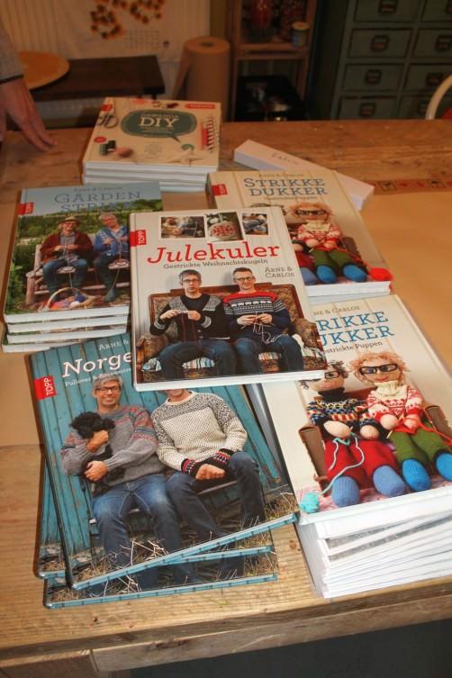 Bücher von Arne und Carlos Frechverlag schoenstricken.de