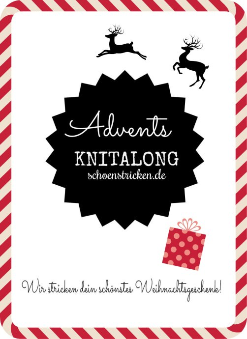 Knitalong 2. Advent schoenstricken.de