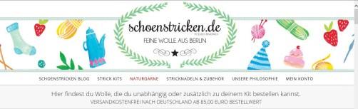 Logo vom Shop schoenstricken.de