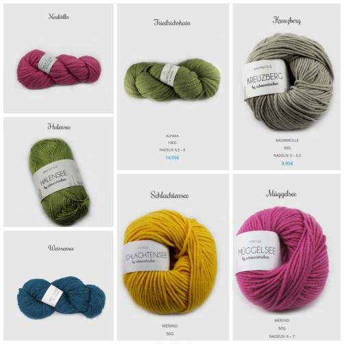 schoenstricken.de Wolle Onlineshop 100% Naturgarne