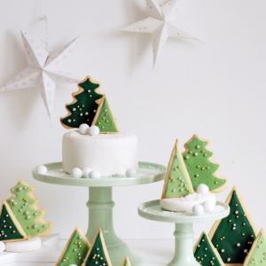 Schöne diy Weihnachtsdeko und Plätzchen