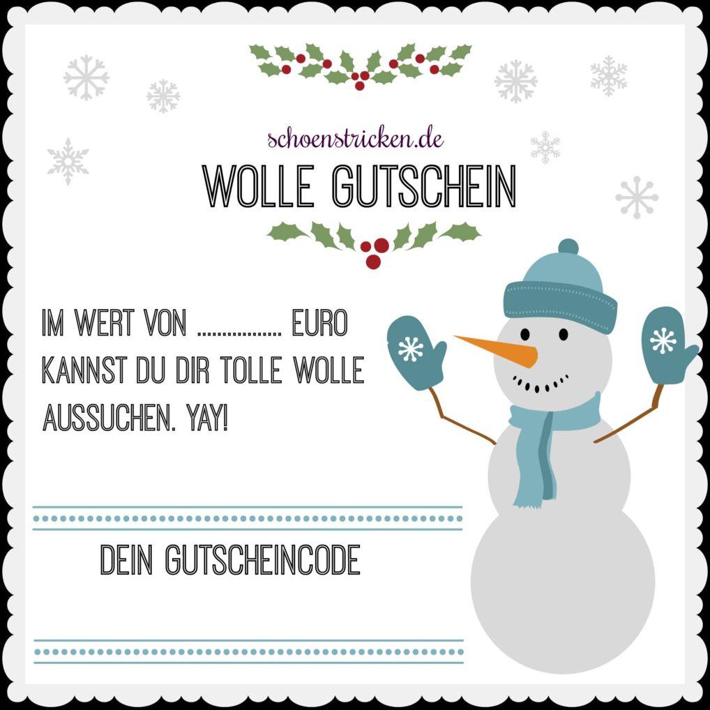 Wolle Gutschein schoenstricken.de