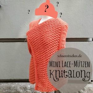 """Der """"Passende Mütze zum Laceschal"""" Knitalong"""