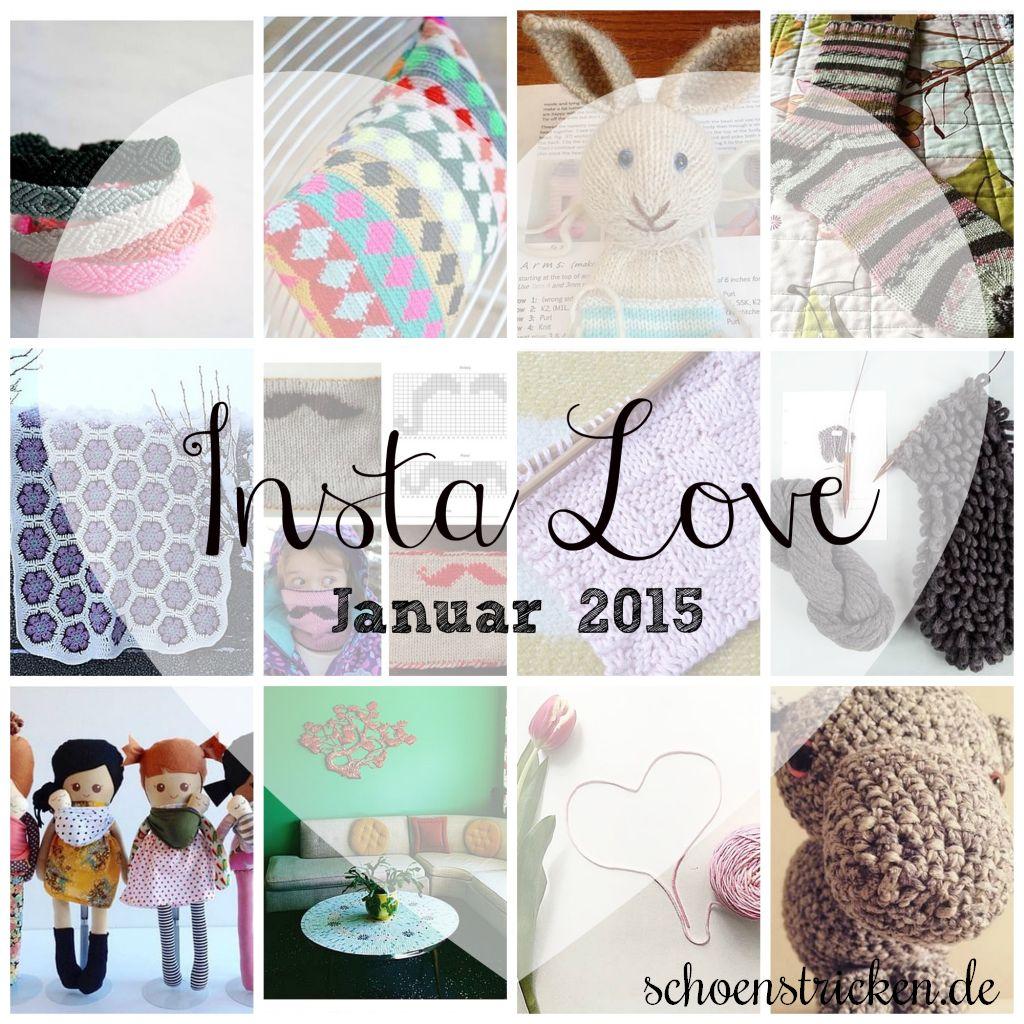 Instagram Inspiration Januar 2015 schoenstricken.de