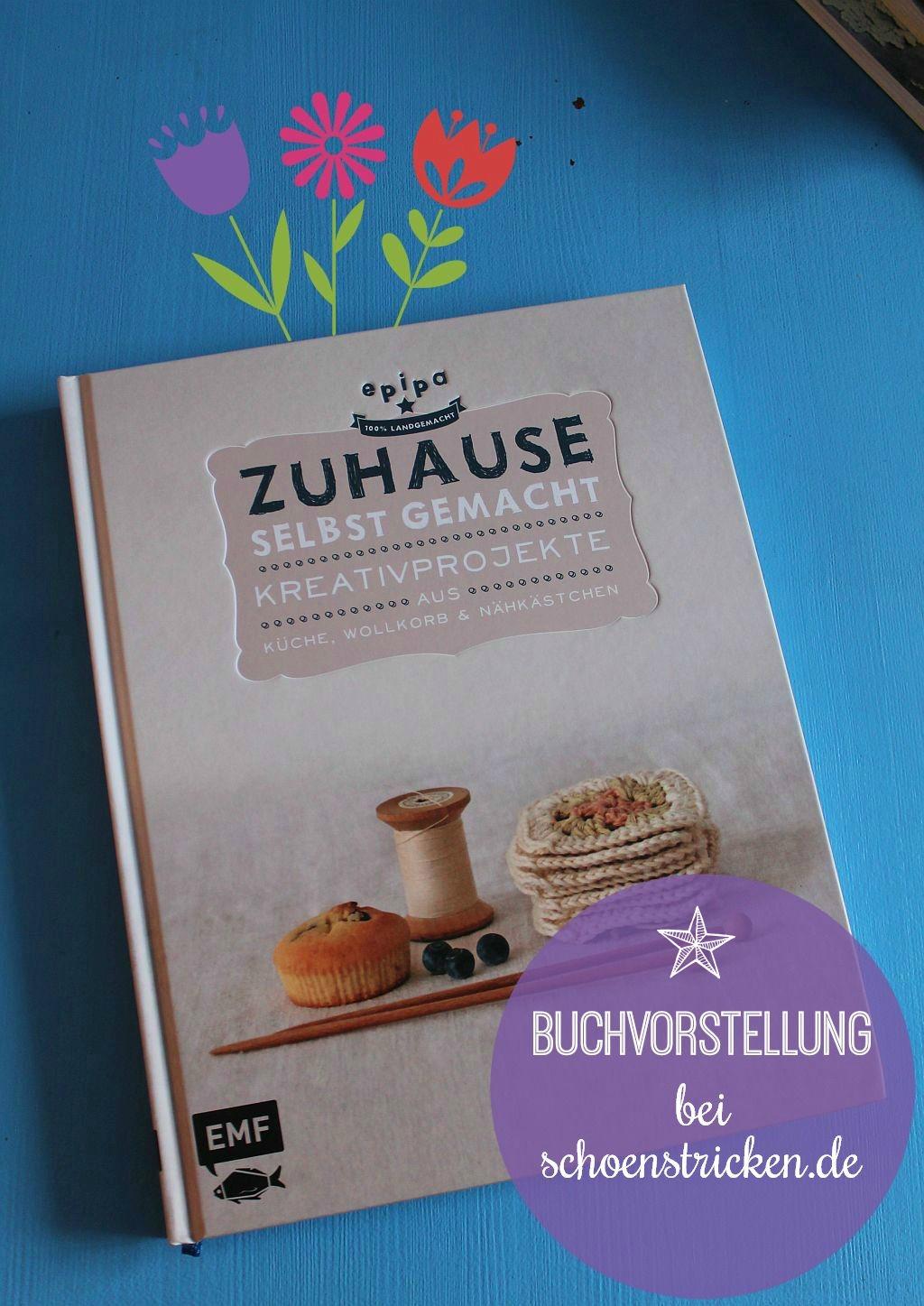 Kreativbücher Vorstellung Zuhause selbst gemacht 5 schoenstricken.de