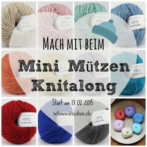 Mini Mützenknitalong schoenstricken.de