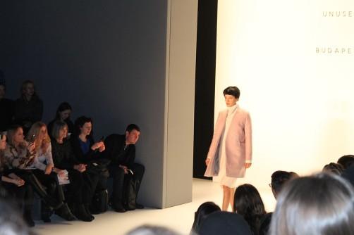 Modenschau auf der Fashionweek Use Unsed schoenstricken.de