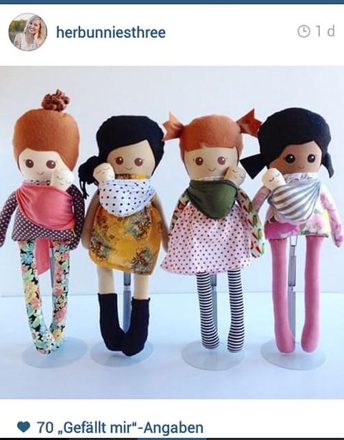 Retro Puppen nähen schoenstricken.de