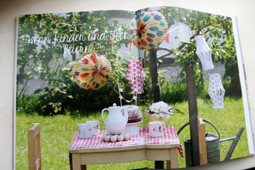 Zuhause selbst gemacht Kinderparty feiern bei schoenstricken.de