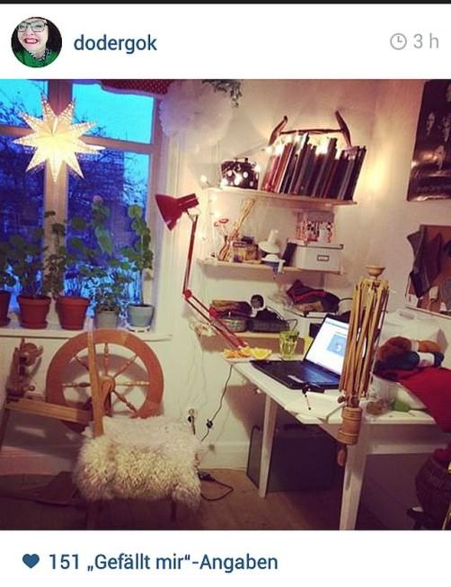 Zuhause Wolle spinnen schoenstricken.de