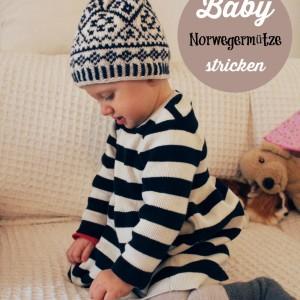 Norwegermütze für Kinder stricken