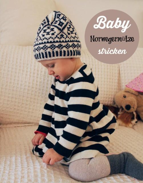 Baby Norwegermütze stricken bei schoenstricken.de