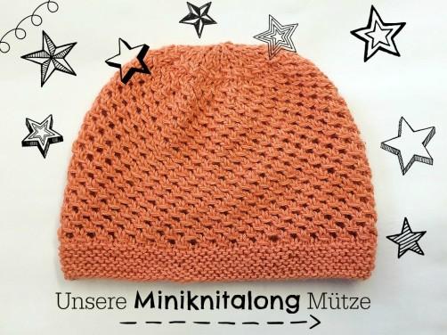 Mini Mützenknitalong Vorderseite schoenstricken.de