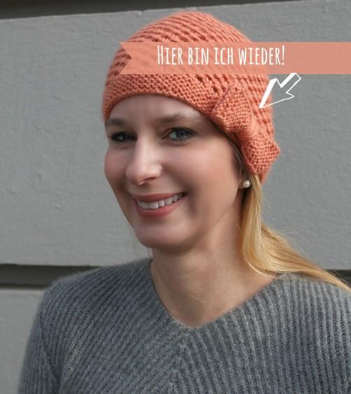 Mütze mit Schleife stricken schoenstricken.de