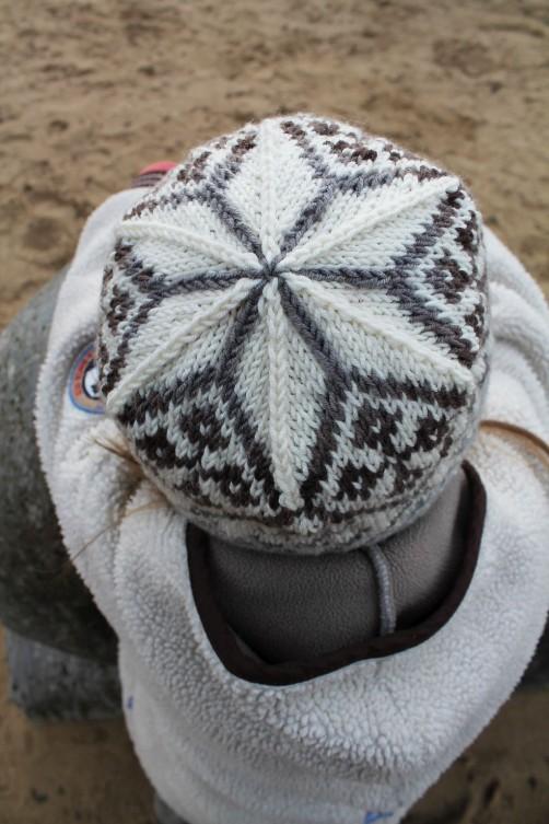 Norwegermütze für Kinder stricken1 schoenstricken.de