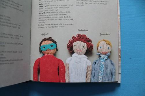 Traumprinz einfach gestrickt Strickbuch Bassermann Frisuren schoenstricken.de