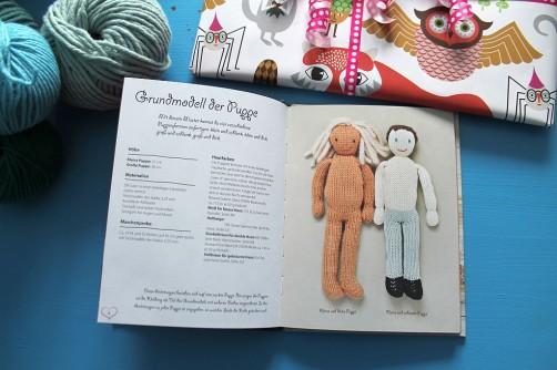 Traumprinz einfach gestrickt Strickbuch Bassermann Puppenkörper schoenstricken.de