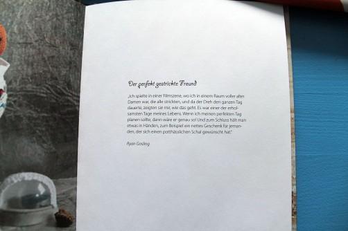 Traumprinz einfach gestrickt Strickbuch Bassermann Ryan Gossling schoenstricken.de