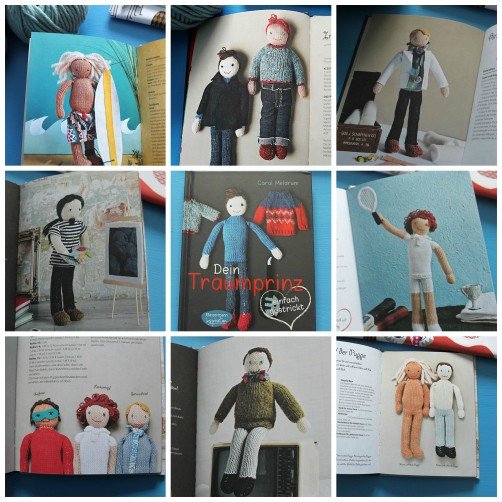 Traumprinz stricken Collage schoenstricken.de