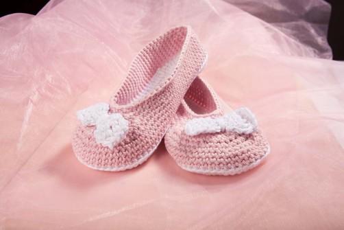 Ballerinas häkeln schoenstricken.de