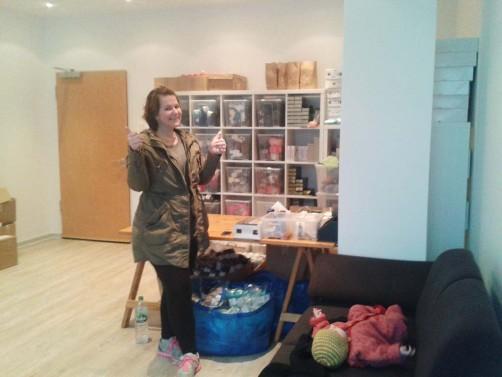 Neues Büro von schoenstricken.de
