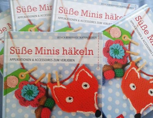 Neues Häkelbuch BLV Minis häkeln schoenstricken.de