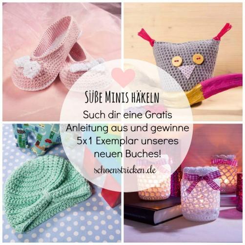 Süße Minis häkeln Buchverlosung schoenstricken.de