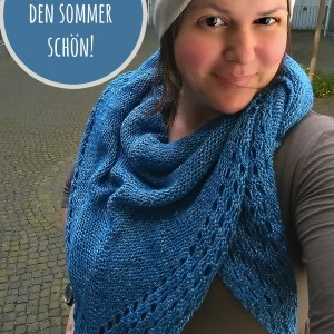 Sommertuch stricken