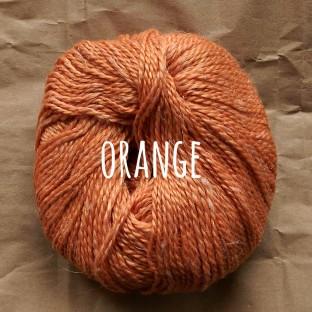 Sommerwolle orange schoenstricken.de